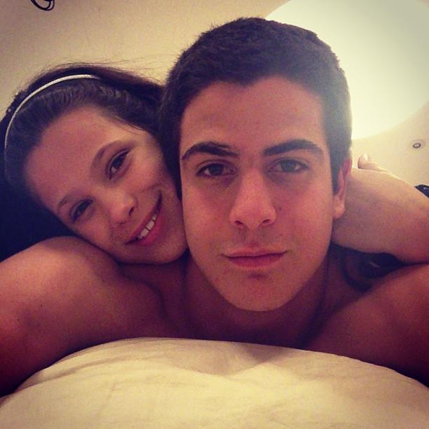 Enzo e Sophia (Foto: Instagram/ Reprodução)