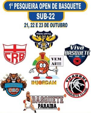 1º Pesqueira Open Basquete sub-22 (Foto: Divulgação)
