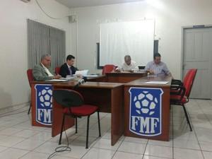Tribunal de Justiça Desportiva de Mato Grosso TJD-MT (Foto: Atilla Eugênio/TVCA)