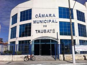 Câmara de Taubaté (Foto: Daniel Corrá/G1)