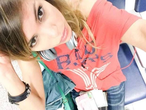Lucilene era modelo e morreu após cair do 21º andar de prédio na Barra (Foto: Reprodução / Facebook)