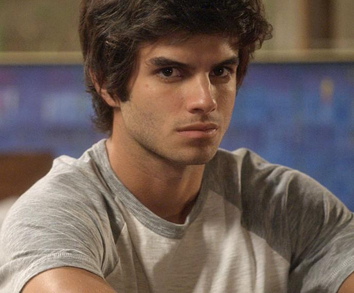Daniel Blanco será o estudante Fabinho (Foto: TV Globo)