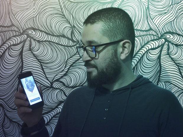 Publicitário de Taubaté cria aplicativo de relacionamento (Foto: Arquivo Pessoal/ Bruno Tavares)