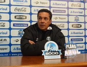 Vanderlei Luxemburgo técnico Grêmio (Foto: Tomás Hammes / GLOBOESPORTE.COM)