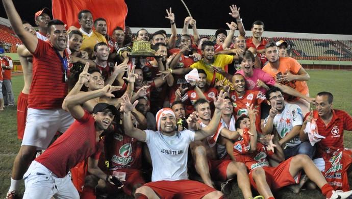 Rio Branco Campeão Acreano 2014 (Foto: Manoel Façanha/Arquivo Pessoal)