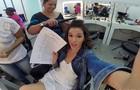 Bruna Marquezine mostra a intimidade em um dia de trabalho no Projac (Foto: Bruna Marquezine/ TV Globo)