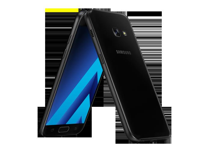 Galaxy A3 (2017) mantém as 4,7 polegadas, mas traz melhoras na memória RAM (Foto: Divulgaão/Samsung)