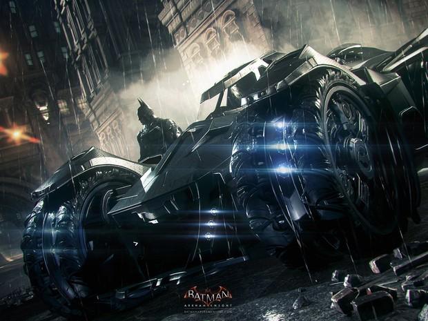 Jogador poderá dirigir o Batmóvel em 'Batman: Arkham Knight' (Foto: Divulgação/Rocksteady)