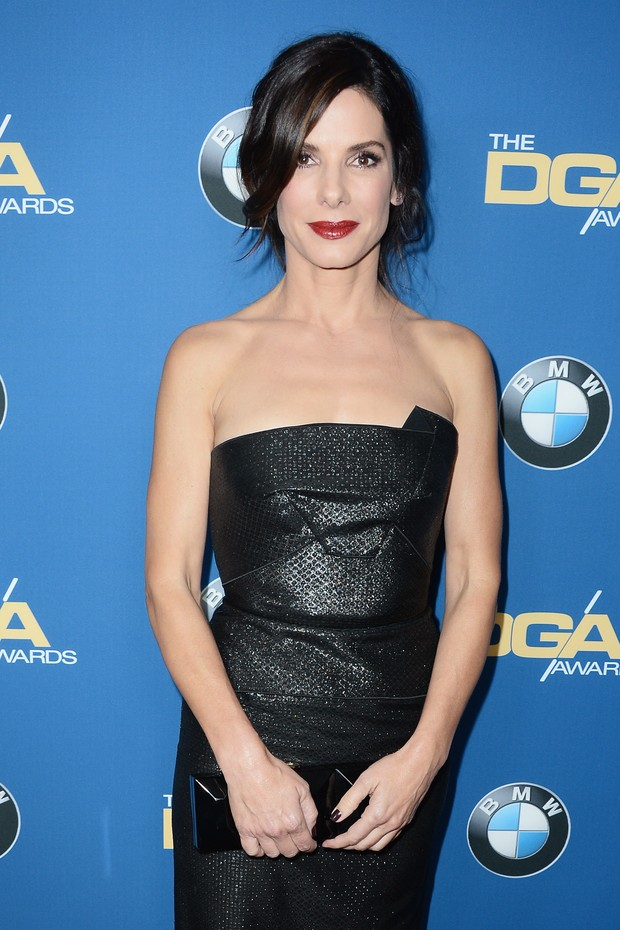 CENTURY CITY, CA - JANUARY 25:  Actress Sandra Bullock attends the 66th Annual Directors Guild Of America Awards held at the Hyatt Regency Century Plaza on January 25, 2014 in Century City, California.  (Photo by Frazer Harrison/Getty Images for DGA) (Foto: Getty Images for DGA)