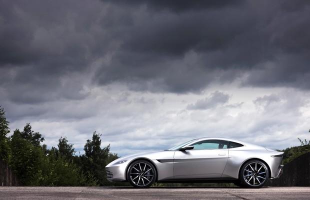 Aston Martin DB10 foi criado para o filme 007 Contra Spectre (Foto: Divulgação)