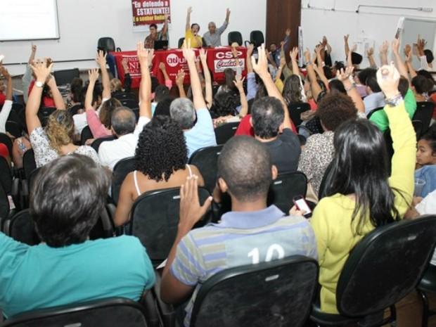 Docentes da Uneb mantém greve iniciada em 13 de maio (Foto: Divulgação/Aduneb)