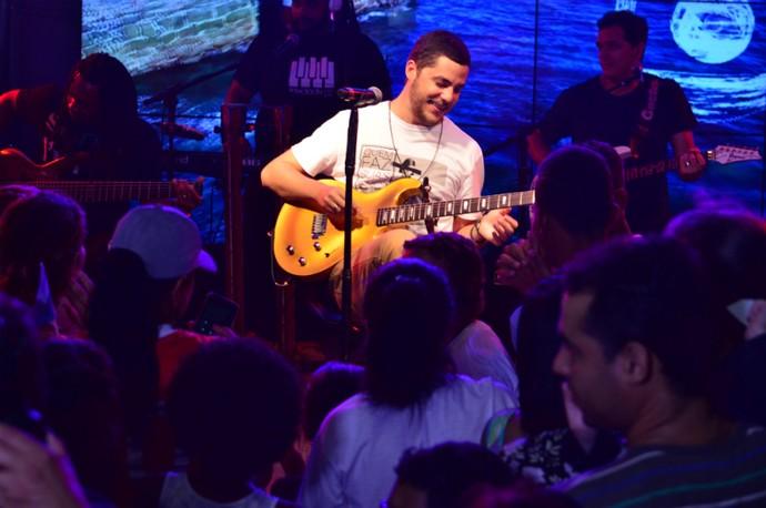 Levi Lima, vocalista da banda Jammil (Foto: Eli Cruz)