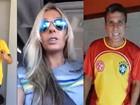 Em vídeo, famosos mandam mensagens de boa sorte à seleção