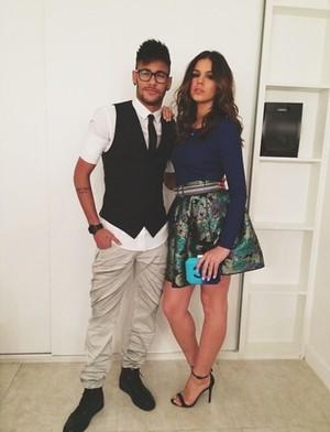 Bruna e Neymar (Foto: Instagram)