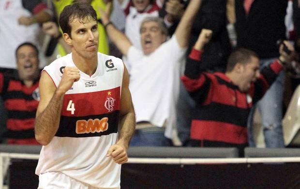 Flamengo x São Jose, Basquete, Marcelinho (Foto: Fernando Azevedo / Fla Imagem)