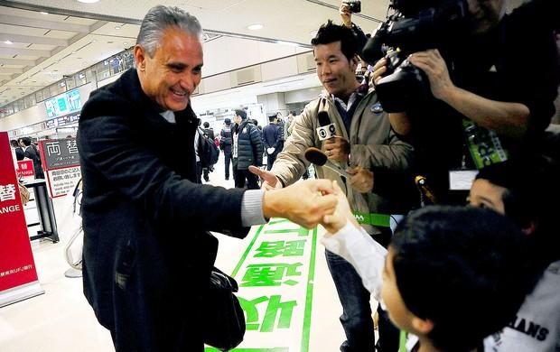 Corinthians desembarque Japão Mundial (Foto: Marcos Ribolli / Globoesporte.com)