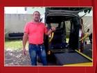 VC no PEGN: empresário adapta carro para locomover idosos