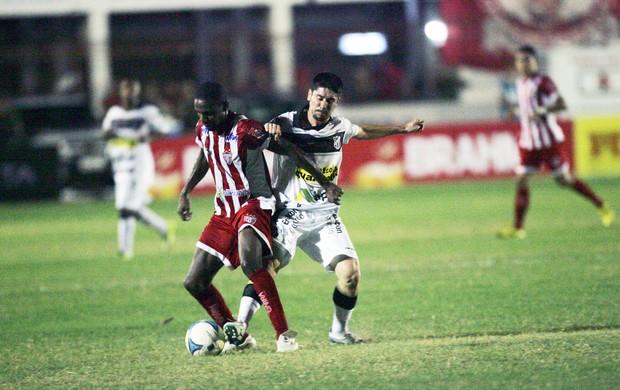 Potiguar e Ceará empatam no Nogueirão pela quarta rodada da Copa do Nordeste (Foto: Bruno Gomes/ Agência Diário)