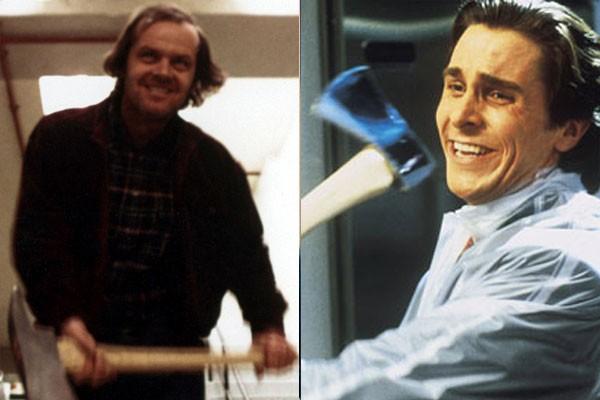 Jack Nicholson e Christian Bale (Foto: Divulgação)