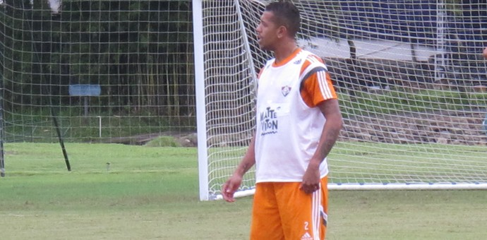 Antônio Carlos, treino Fluminense, Mangaratiba (Foto: Richard Souza)