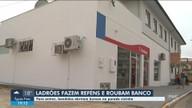 Ladrões fazem reféns em pousada e assaltam banco em Presidente Getúlio