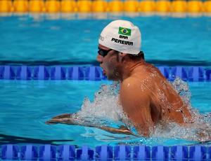 Thiago Pereira, da natação, no Mundial de Barcelona (Foto: Satiro Sodré / SS Press)
