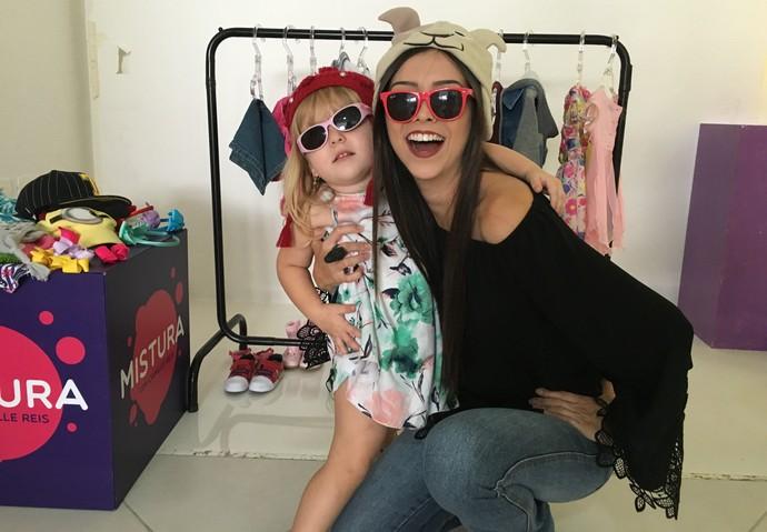 Mistura mostra que crianças podem ter liberdade para se vestirem (Foto: RBS TV/Divulgação)