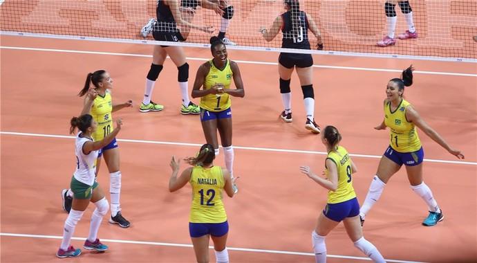 Brasil x Turquia Grand Prix vôlei (Foto: Divulgação /FIVB)