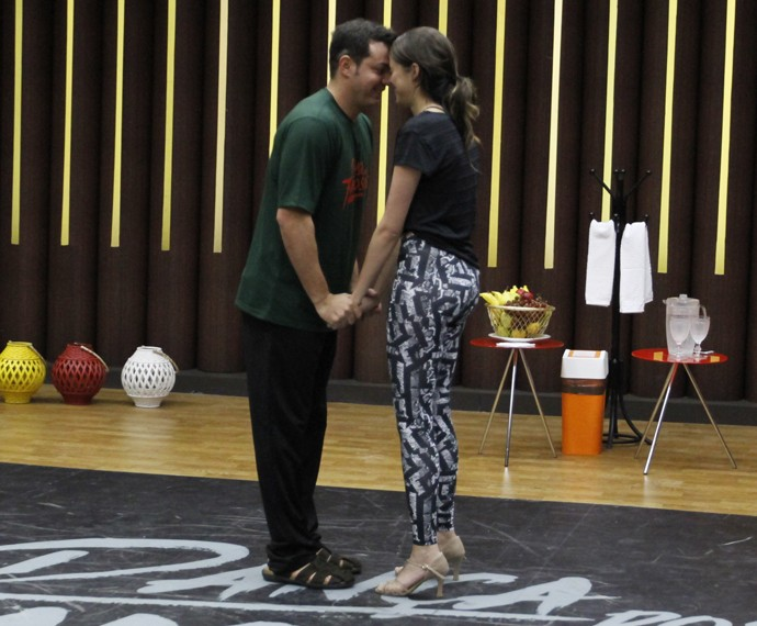Agatha Moreira e Leandro Azevedo (Foto: Fabiano Battaglin / Gshow)