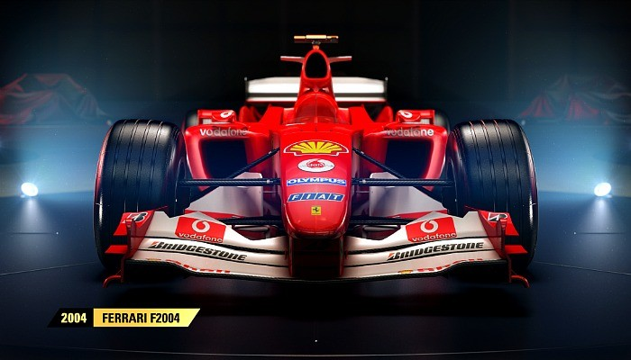 Ferrari de 2004 estará no game F1 2017