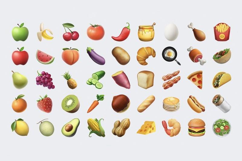 Novo grupo de emojis da Apple (Foto: Reprodução/iPhone)