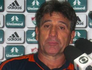 Renato refuta desculpas, diz que Flu 'passeou' e garante: 'Vamos reverter' (Foto: Thaís Jorge)
