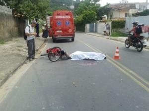 Atropelamento Canasvieiras (Foto: Jornal Conexão Comunidade/Divulgação)