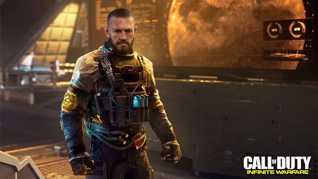 "BLOG: Conor McGregor revela imagem de seu personagem no game ""Call of Duty"""