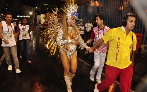 Dani Vieira, rainha da Renascer de Jacarepaguá (Foto: Roberto Teixeira/EGO)
