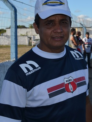 Reginaldo Sousa, Treinador do Santa Cruz de Santa Rita (Foto: Yordan Cavalcanti / GloboEsporte.com/PB)