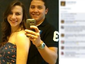 Casal de namorados tinha 18 anos (Foto: Reprodução/Facebook)
