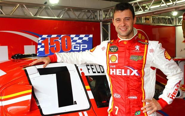 Alceu Feldmann, da equipe A. Mattheis, completa 150 corridas na Stock Car (Foto: Carsten Horst/ divulgação)