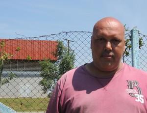 Jorge Firmo Presidente do Usac de Suzano (Foto: Thiago Fidelix / Globoesporte.com)