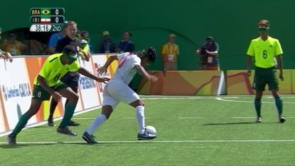 Melhores momentos: Brasil 0 x 0 Irã pelo futebol de 5