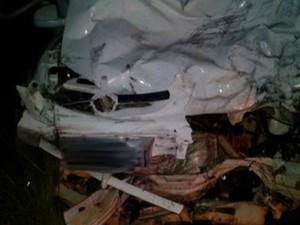 Quatro pessoas da mesma família morreram após colisão na BA-263 (Foto: Keile Araújo / Itororó Já )