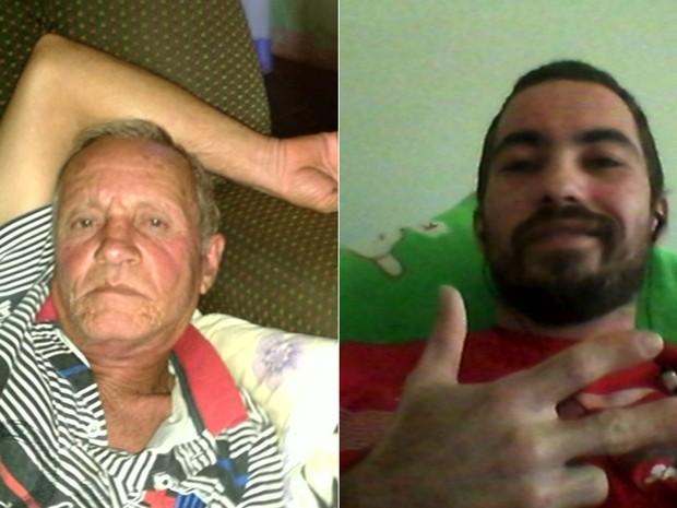Pai e filho são mortos enquanto trabalhavam em bar de Luziânia, Goiás (Foto: Reprodução/TV Anhanguera)