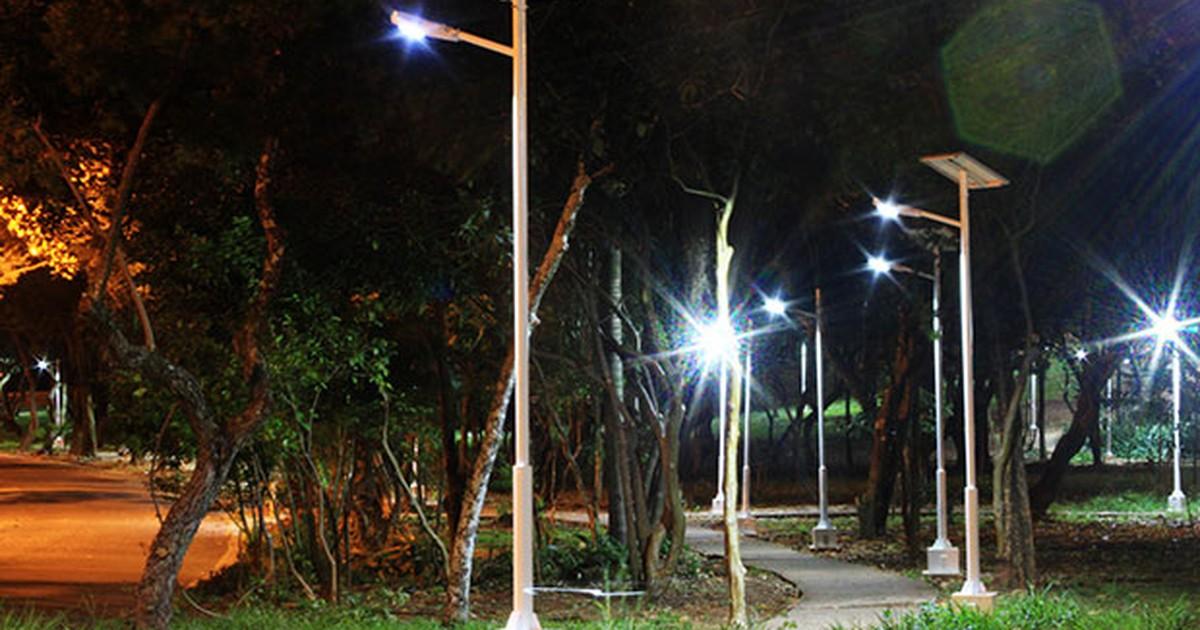Inovação na iluminação pública é alimentada pela energia solar