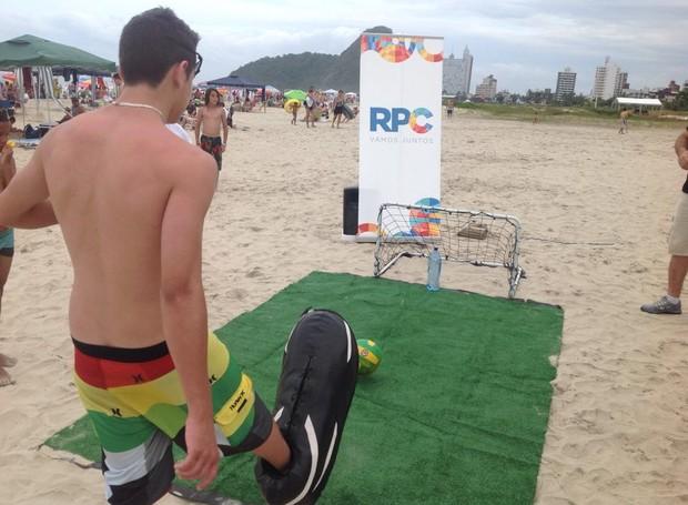 Galera aceitou o desafio e ganhou ingressos para shows que agitam o verão (Foto: Divulgação/ RPC)