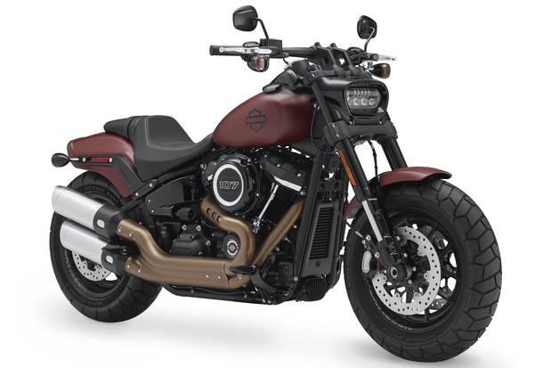 CA - 23/8/2017 - Linha Harley-Davidson 2018 - divulga (Foto: Divulgação)
