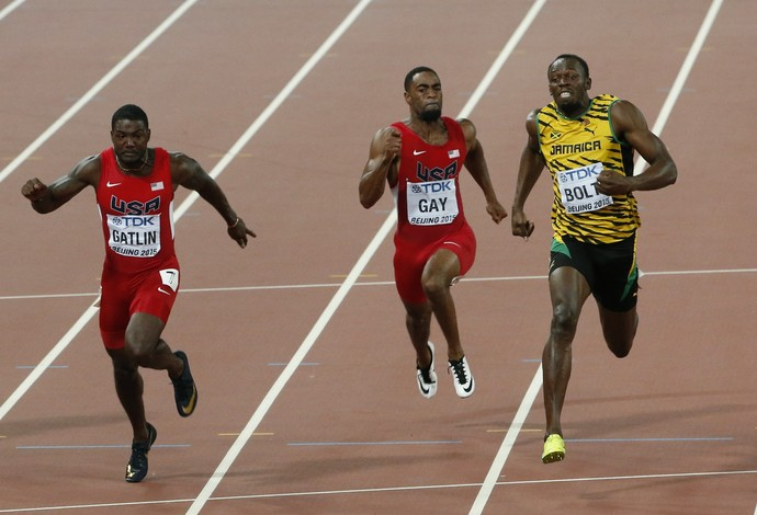 Final dos 100m ; usain bolt; mundial atletismo (Foto: Reuters)