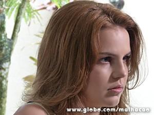 Anita fica impressionada com a revelação (Foto: Malhação / TV Globo)