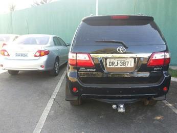Veículos adquiridos por quadrilha através de fraude foram apreendidos pela Polícia Civil  (Foto: Isabella Formiga/G1 DF)
