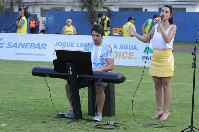 Allice Tirolla Estádio do Café (Foto: Reprodução/ Redes Sociais)