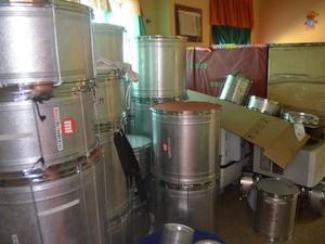 105 instrumentos musicais também foram comprados com a venda do Monteiro Lopes (Foto: Abinoan Santiago/G1)